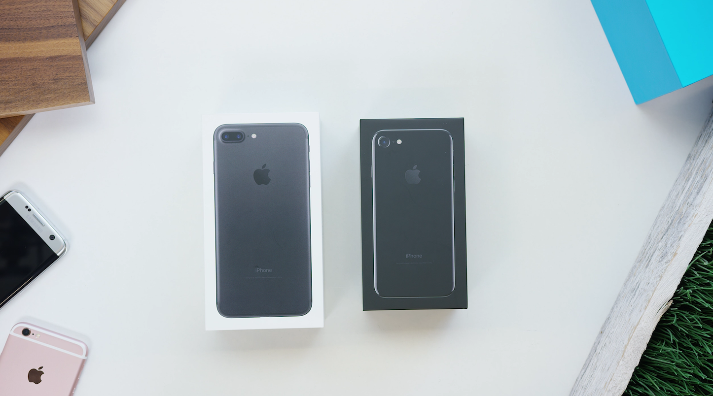 Iphone 7 iphone 7 plus unboxing