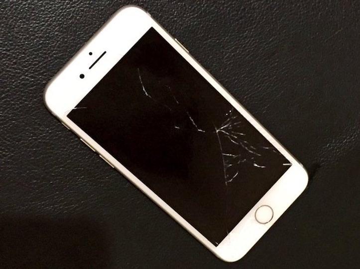 Iphone break display