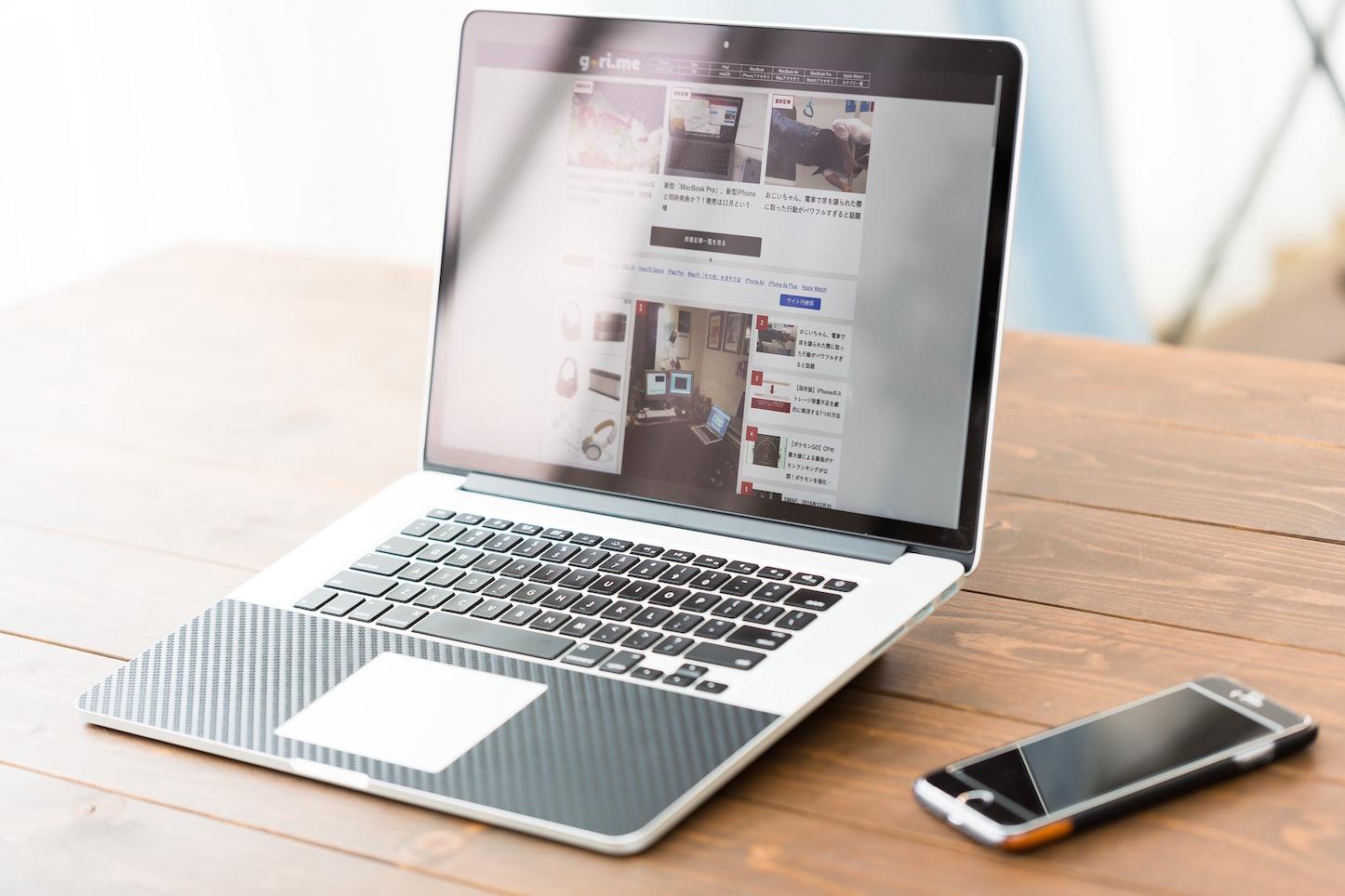 Macbook pro and iphone 6s plus