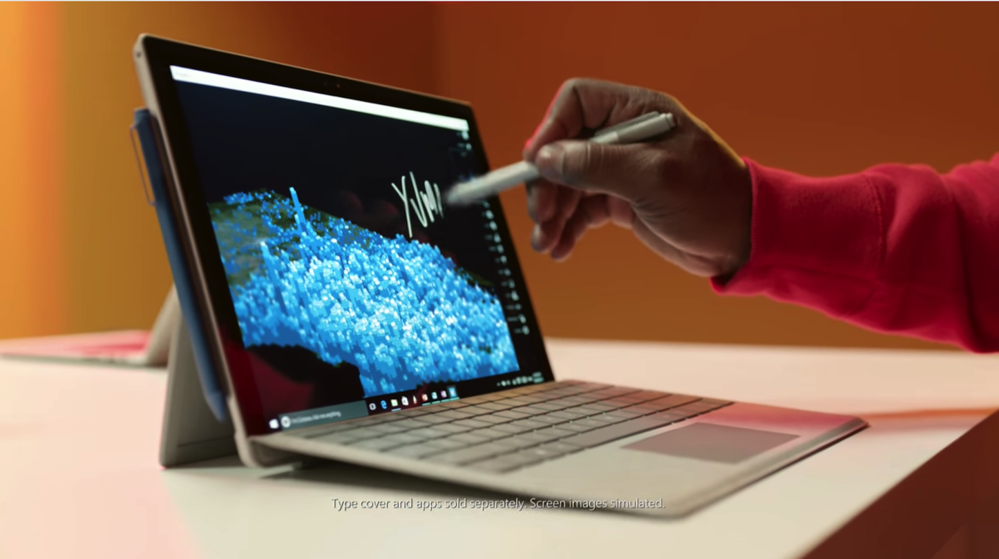 Surface does more