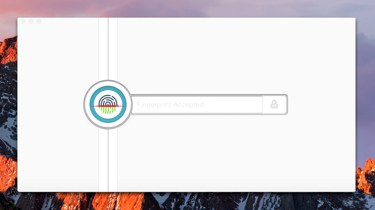 1password for touchbar touchid