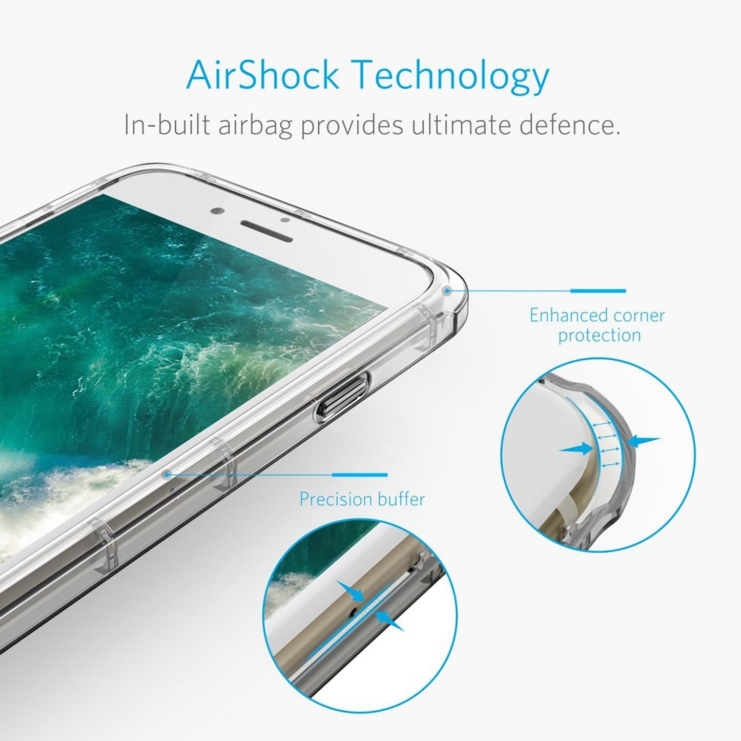 Anker ToughShell Air iphone7plus