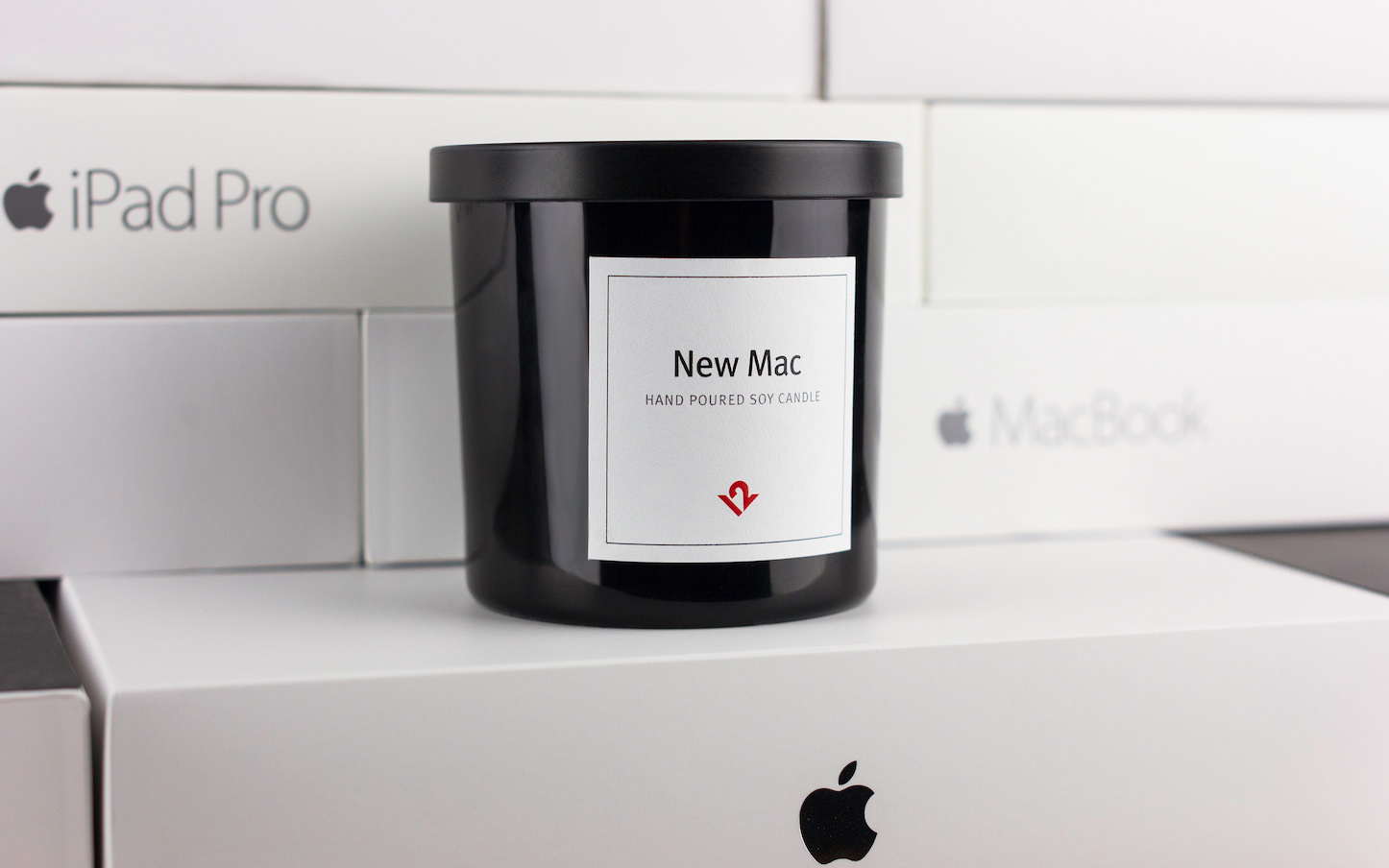 New Mac Hand Poured Soy Candle