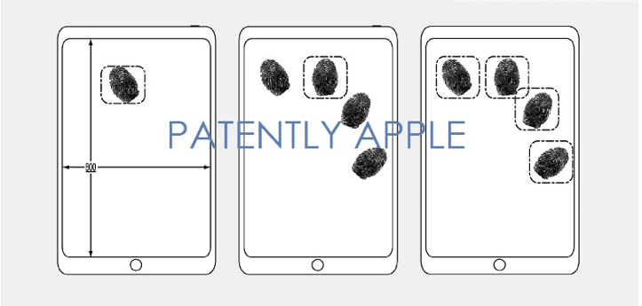 Patently Apple Display Fingerprint Sensor