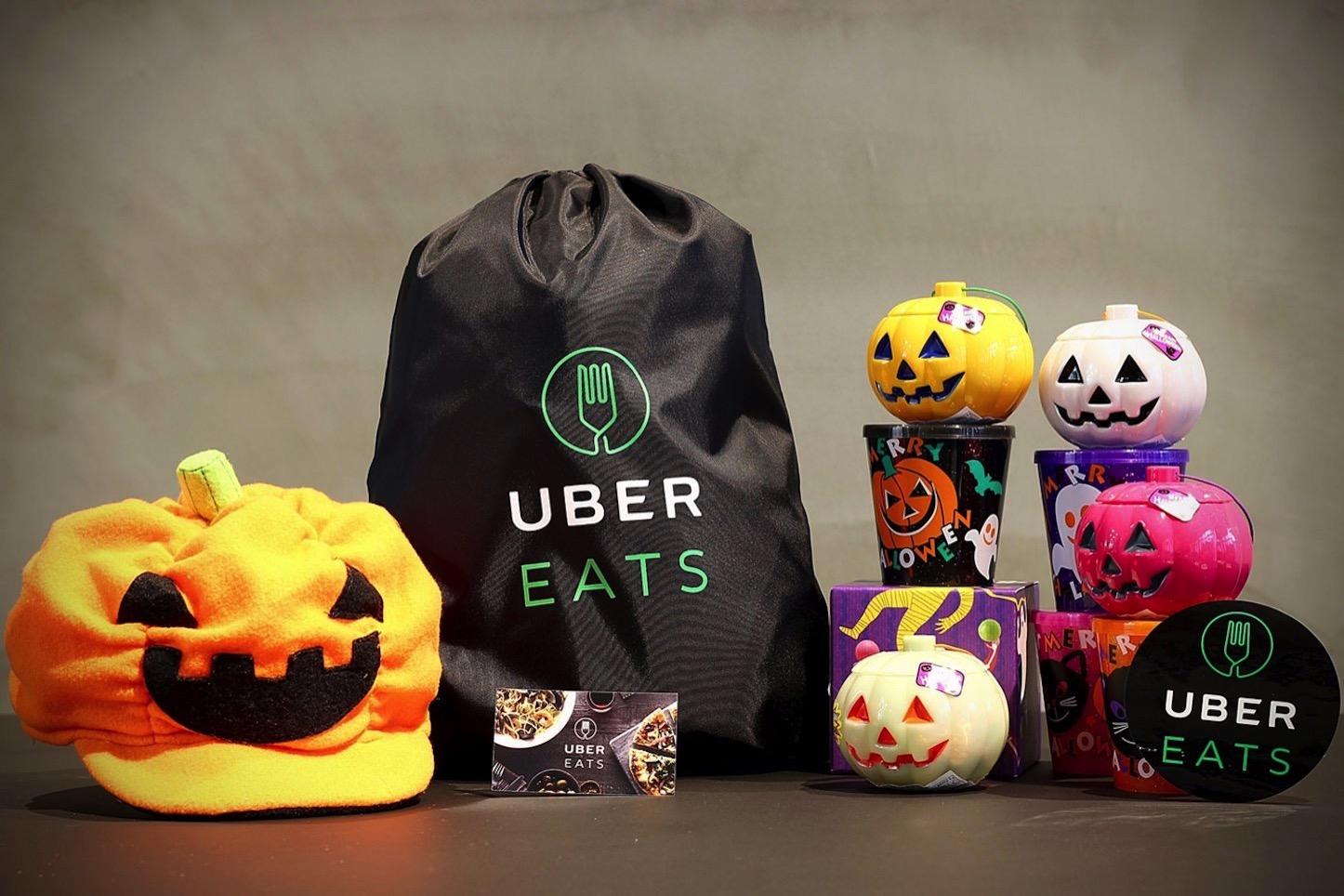 UberEats Halloween Campaign