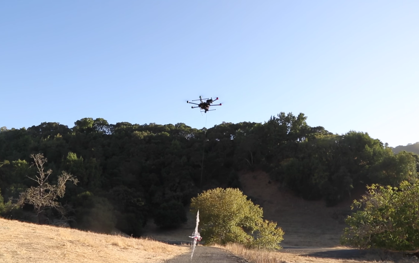 Catching drones with drones