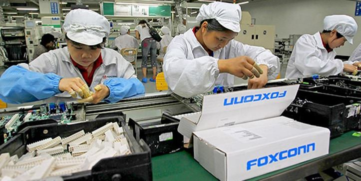 Foxconn workers ladies