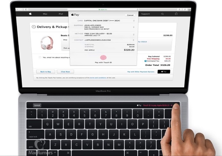 Macbook pro touch id mr