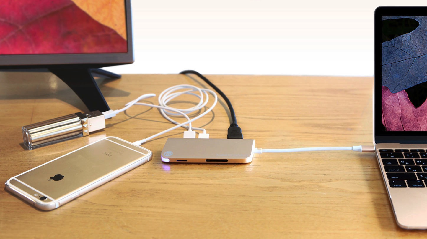 Almighty dock USB-C
