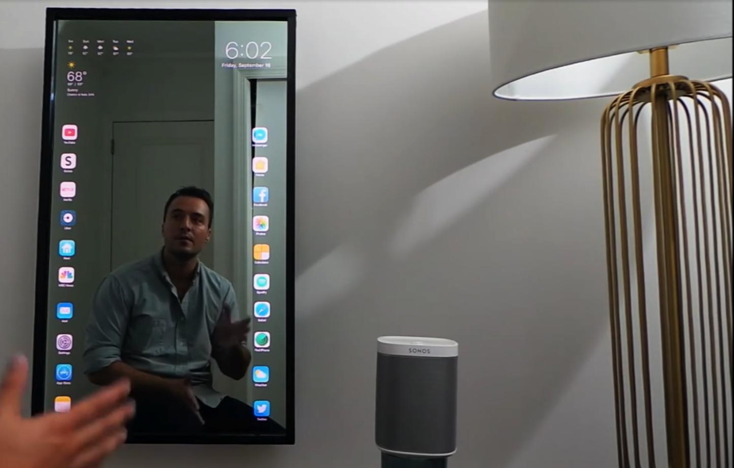 Apple Mirror TouchScreen