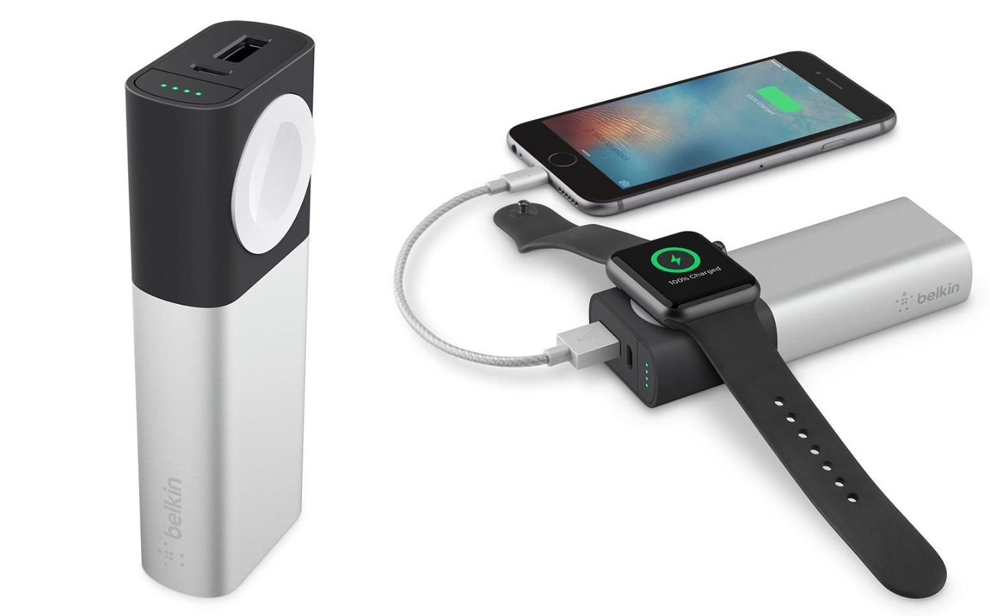 Belkin AppleWatch iPhone Battery