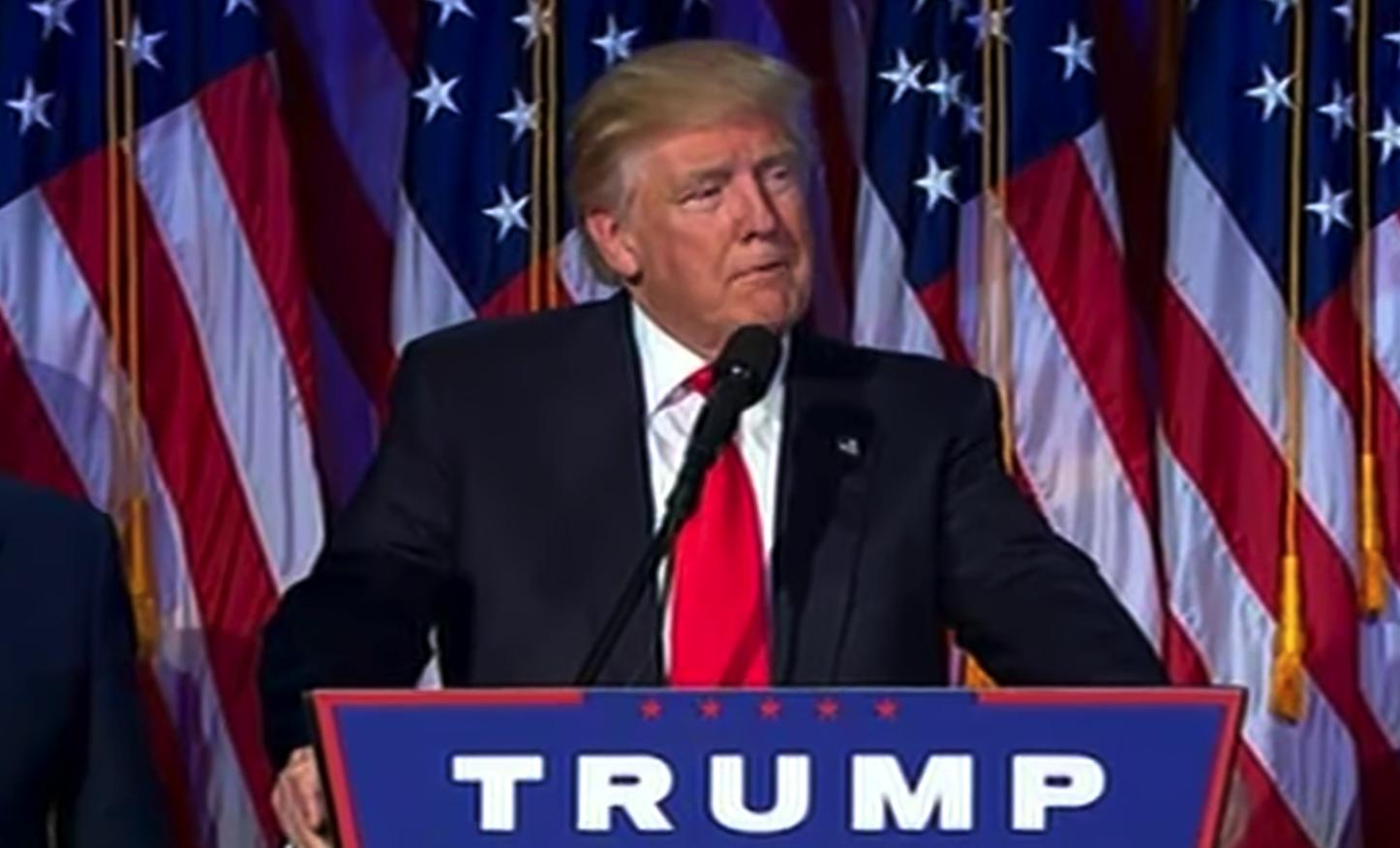 Donald Trump Victory Speech