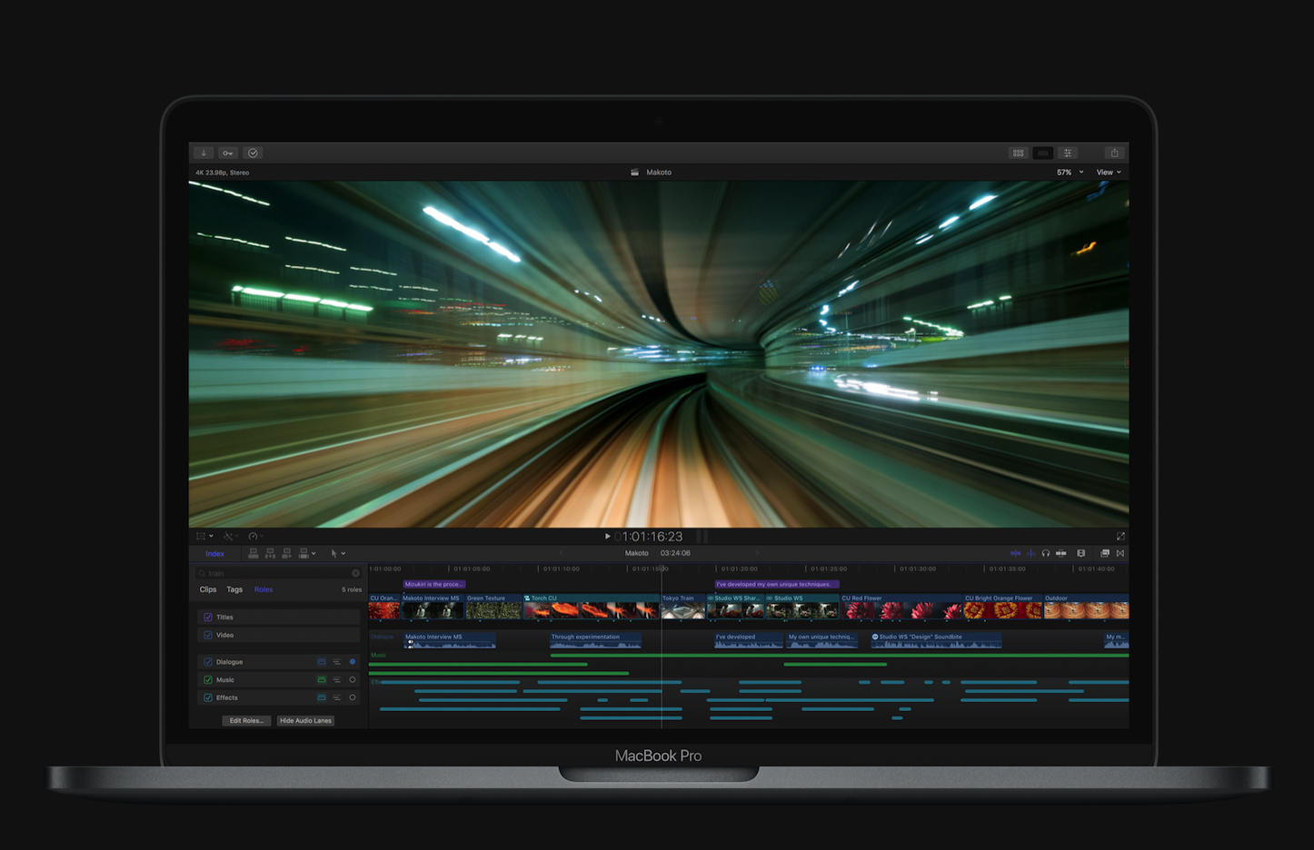 Final Cut Editing on the new MacBook Pro