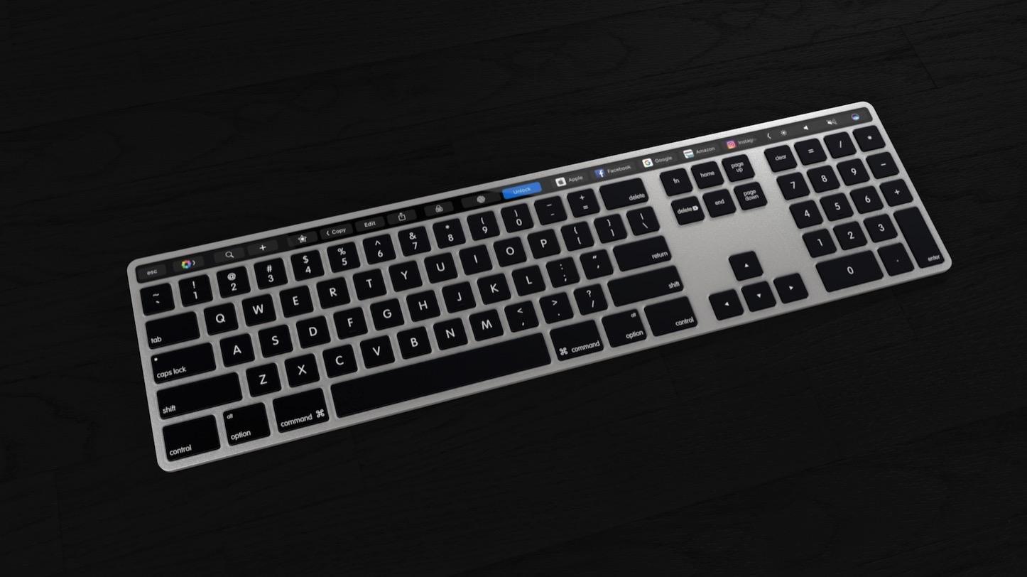 Magic ToolBar Keyboard