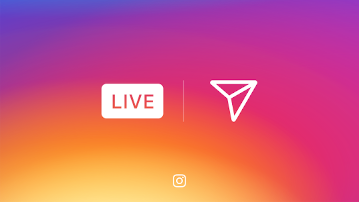 Instagram live video on stories