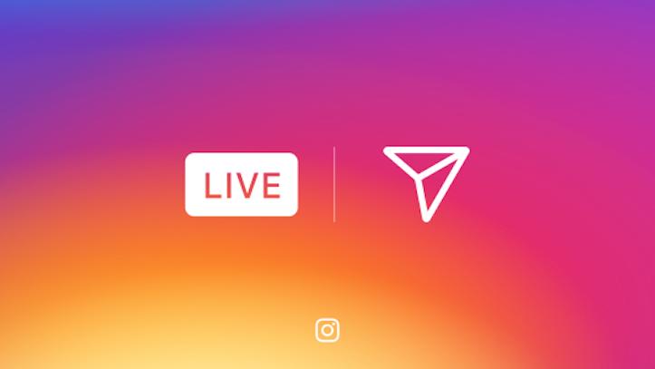 Instagram live video on stories