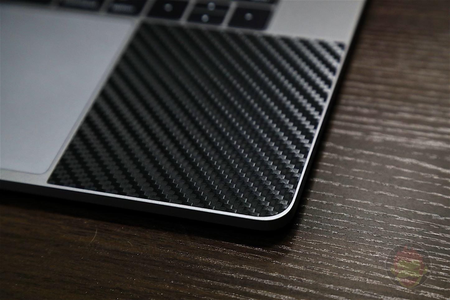 Wraplus Black Carbon Skin for MBPr2016