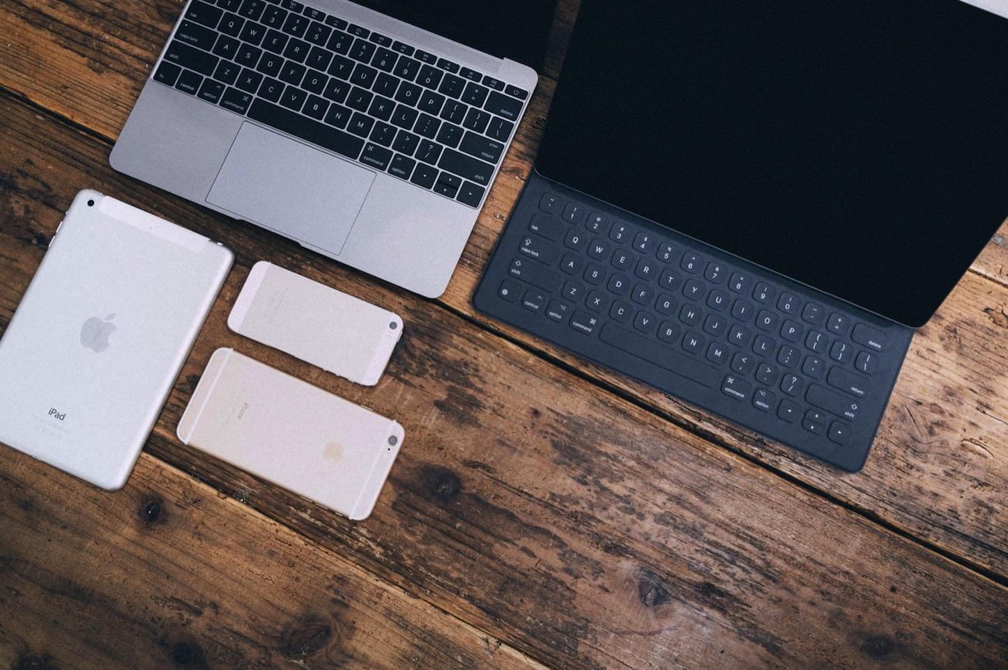 Macbooks and iphones