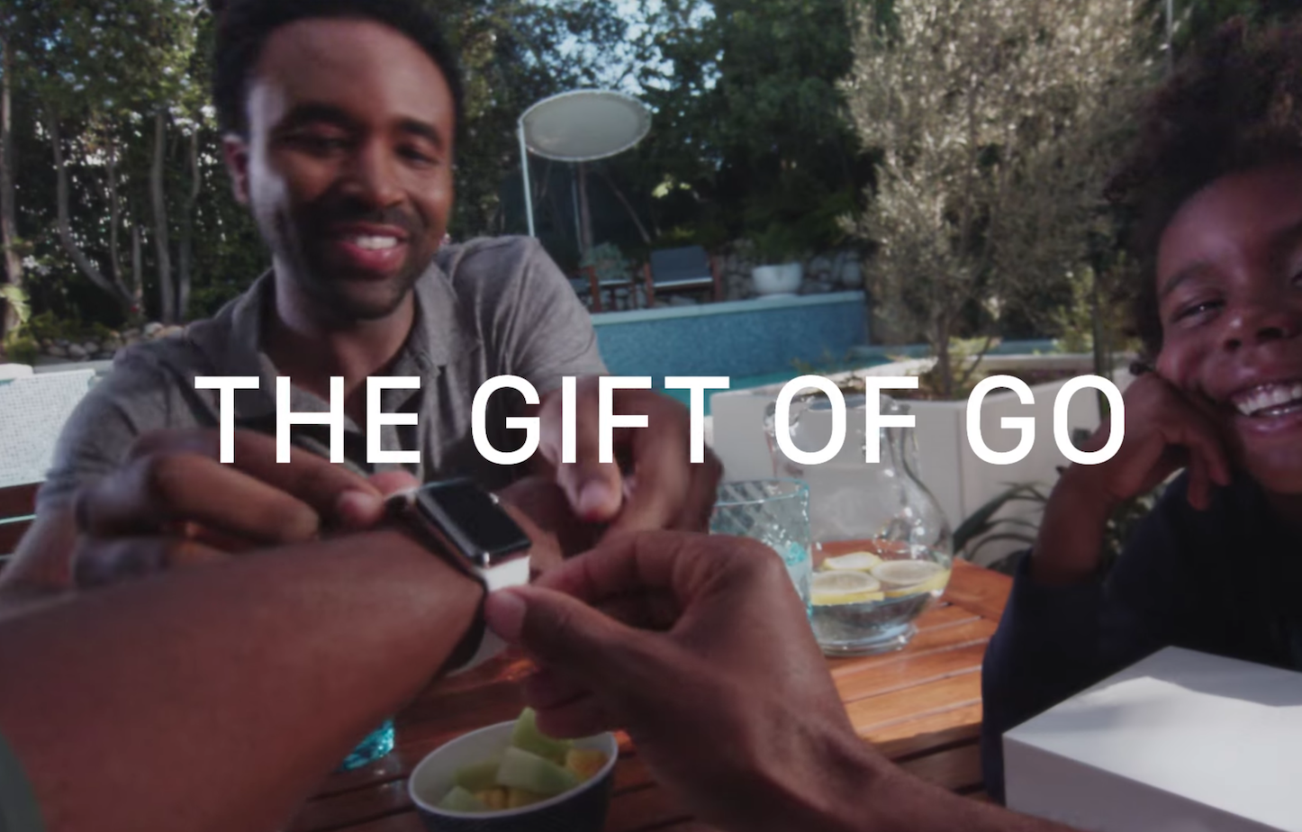 The gift of go apple watch