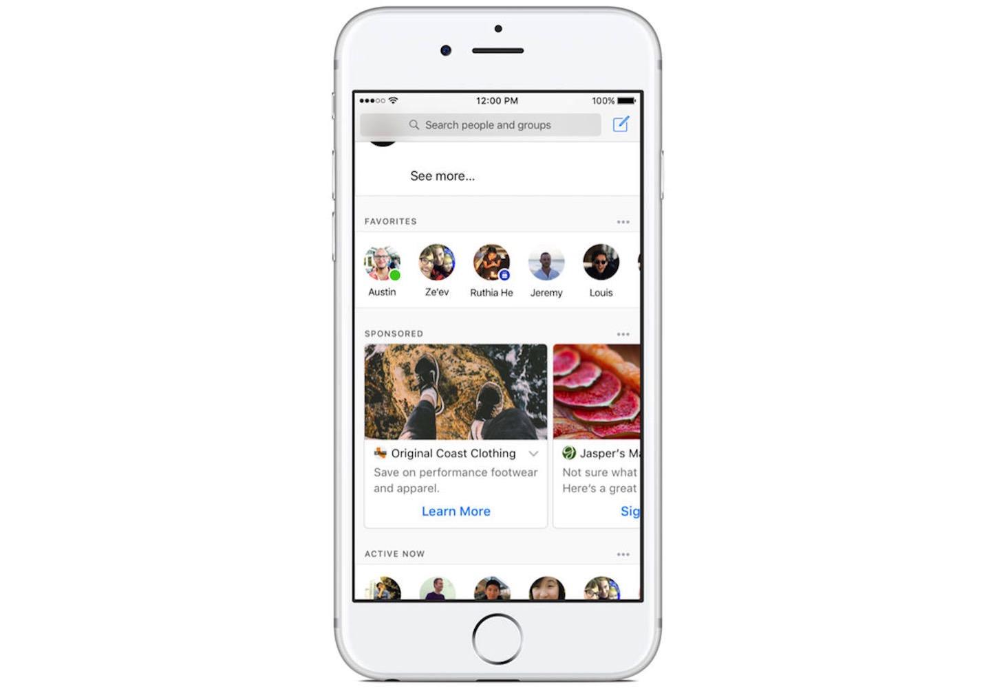 Ads in Facebook Messenger