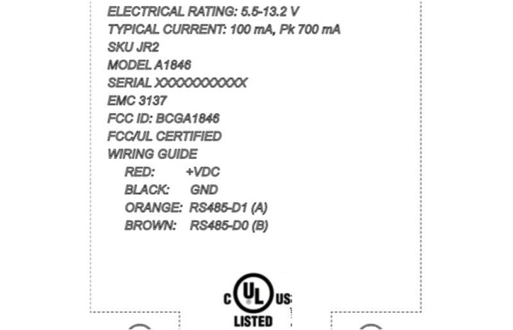 FCC Mysterious Wireless Device from Apple