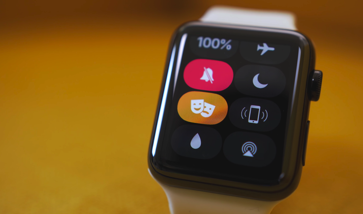 Theater Mode for Apple watch