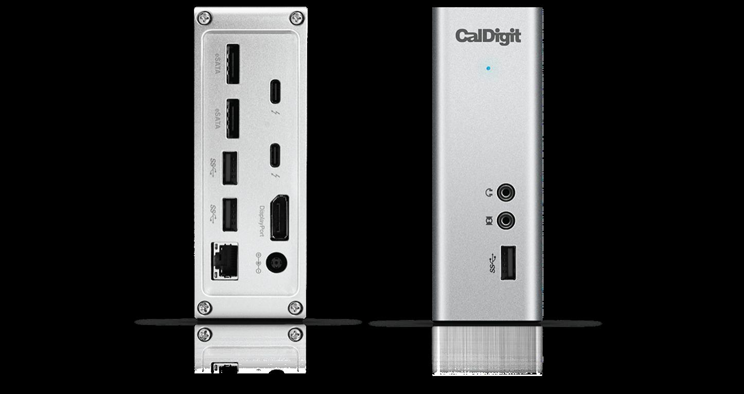 Thunderbolt 3 Dock CalDigit TS3 Overview 1