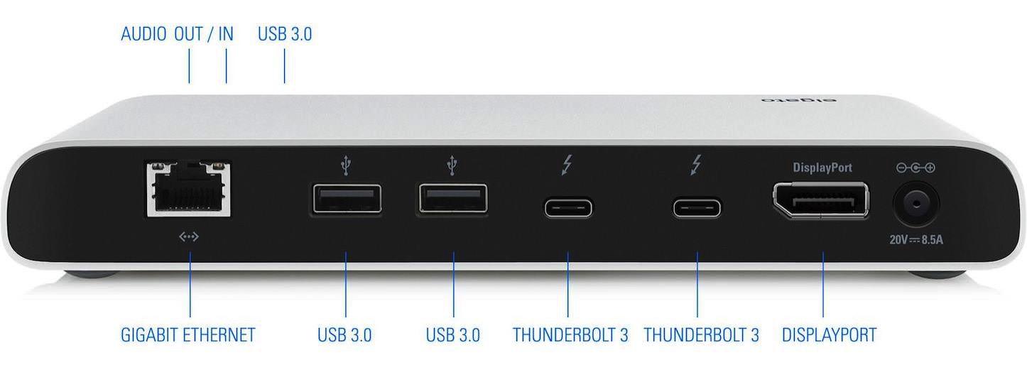 Thunderbolt 3 dock