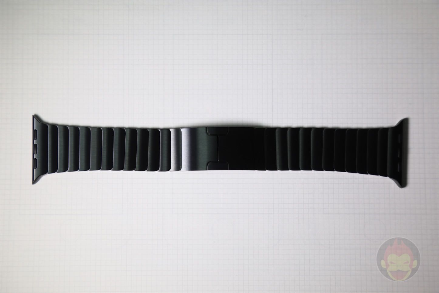 Apple Link Bracelet Space Black