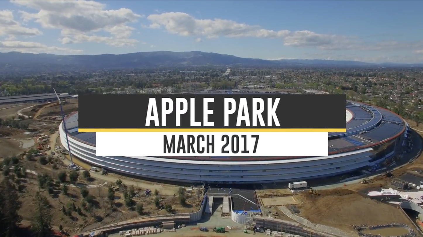 Apple Park Drone Footage