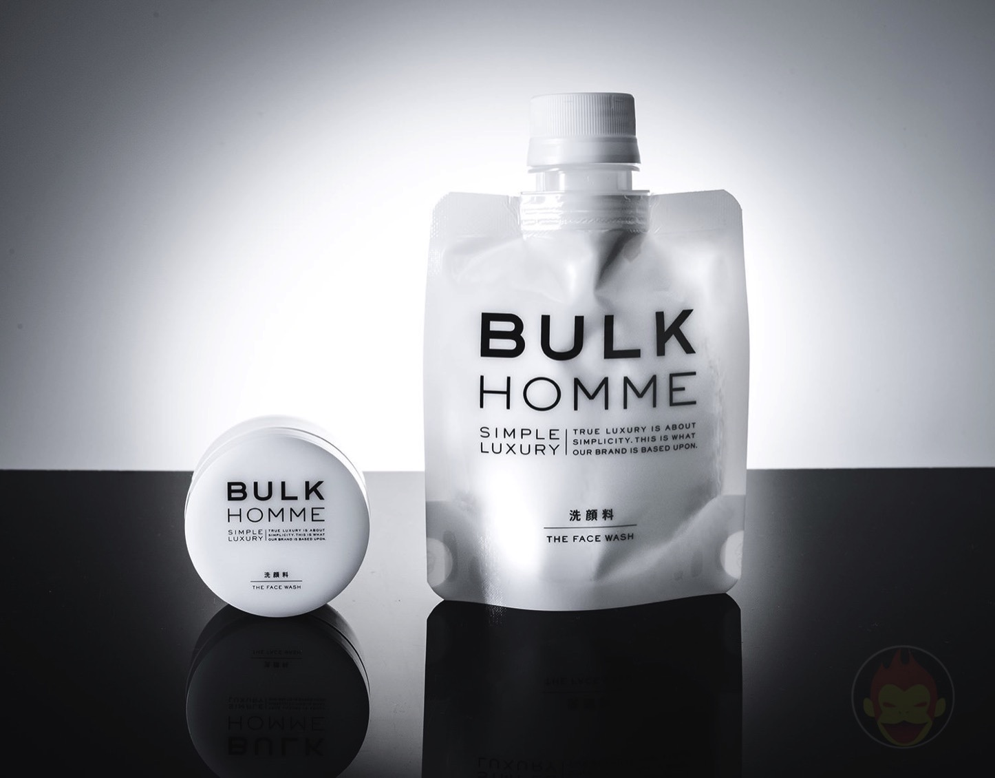 BULK HOMME 洗顔料「THE FACE WASH」
