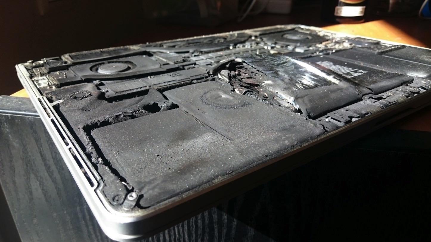 Expoding MacBook Pro 2015