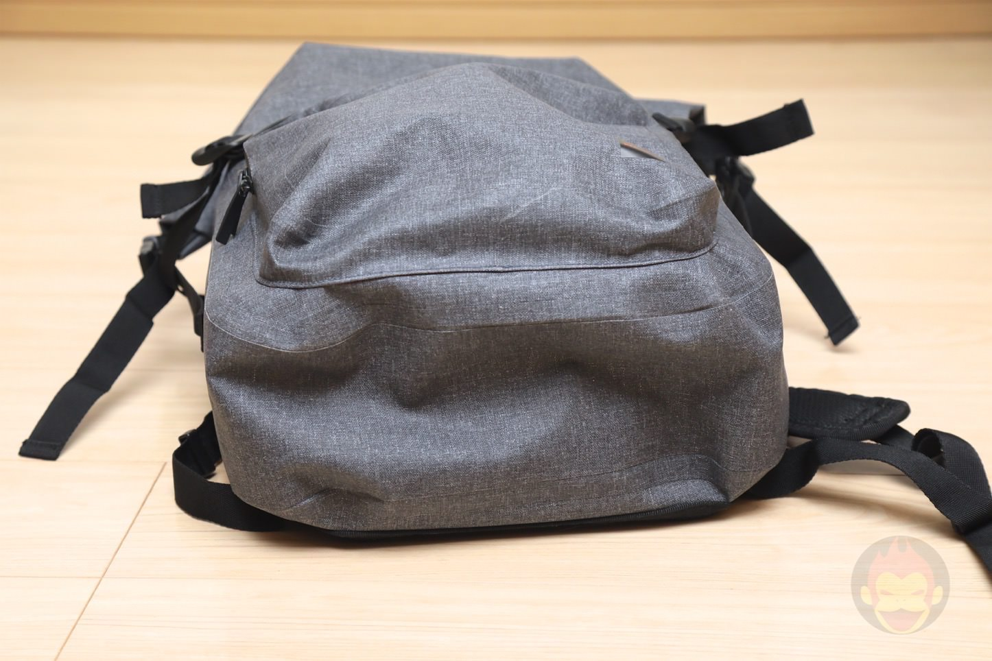 KNOMO Hamilton Backpack 15 Roll top Grey