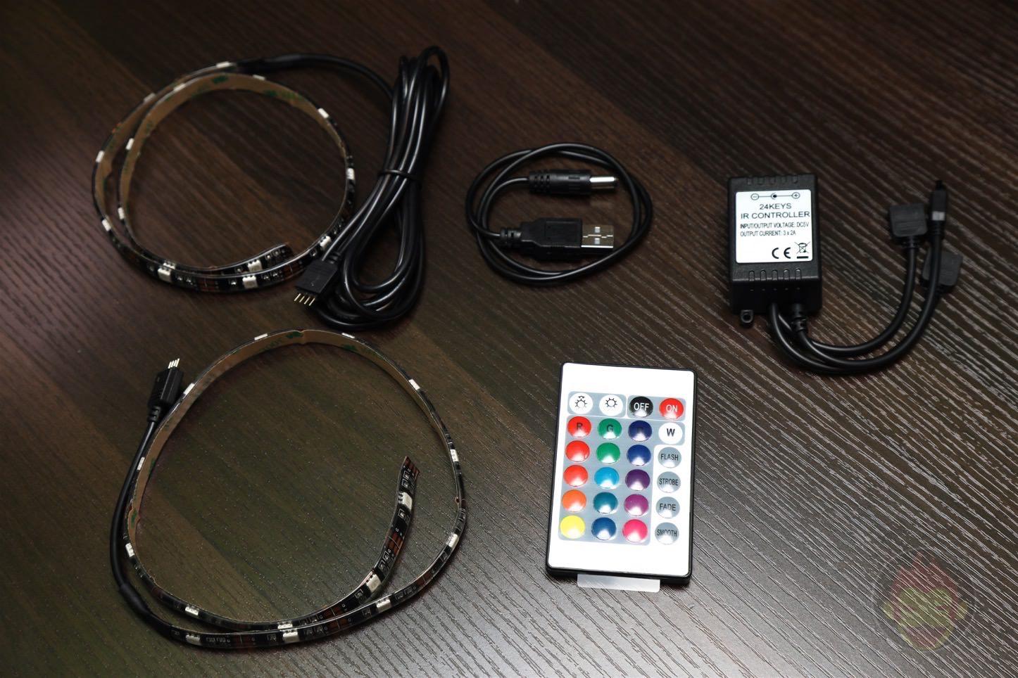 RioRand LEDテープライトでMac環境に間接照明を追加