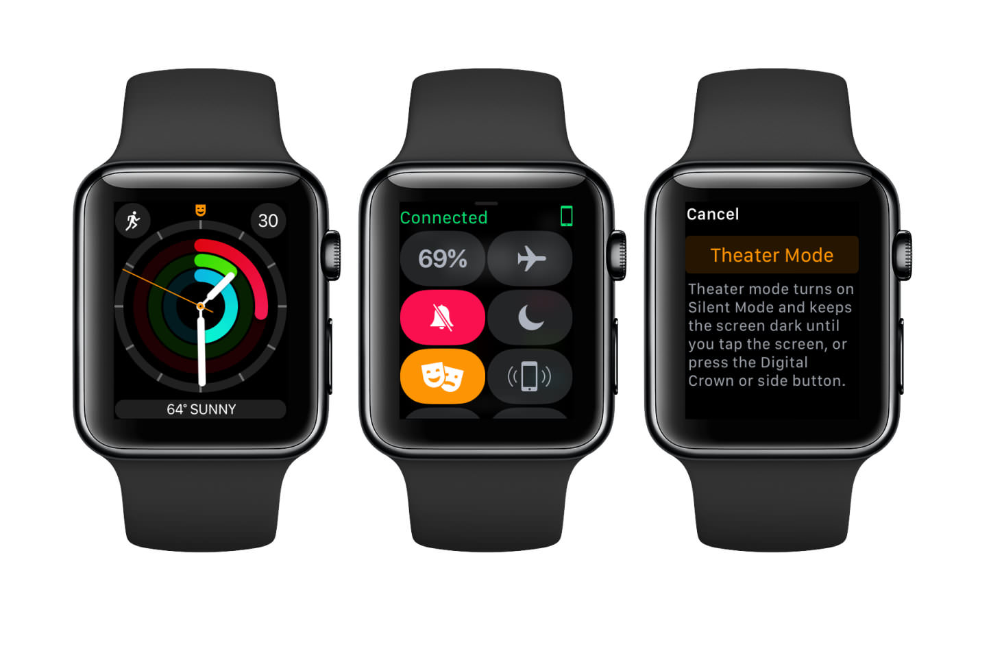 Theater Mode On Apple Watch