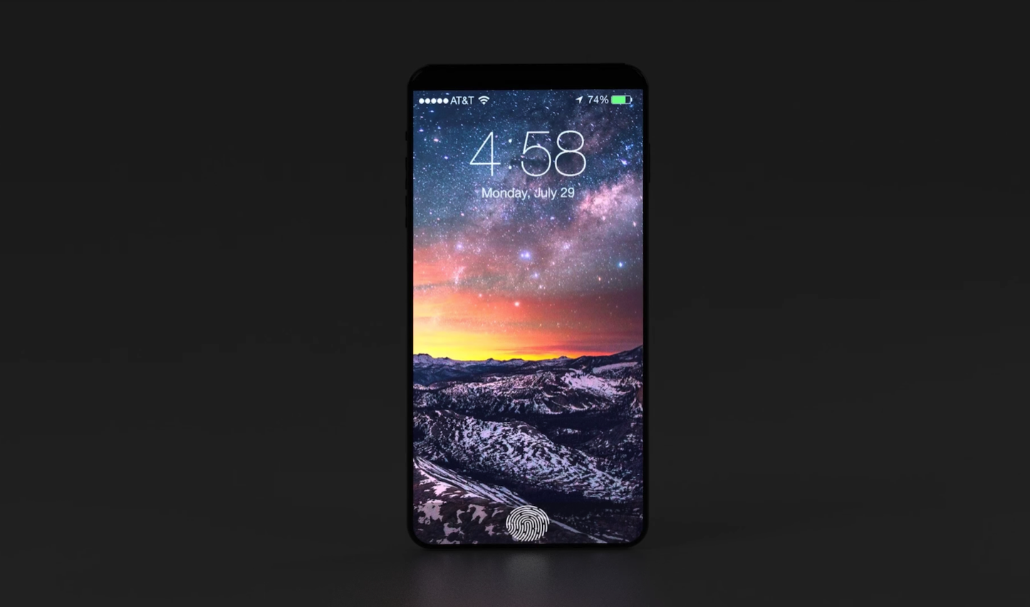 Iphone 8 ios11 concept