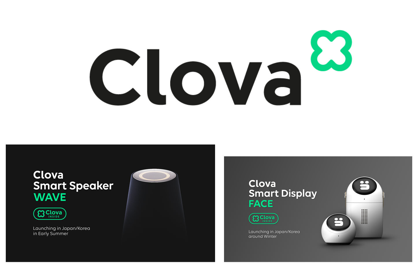 Clova SmartSpeaker And Display