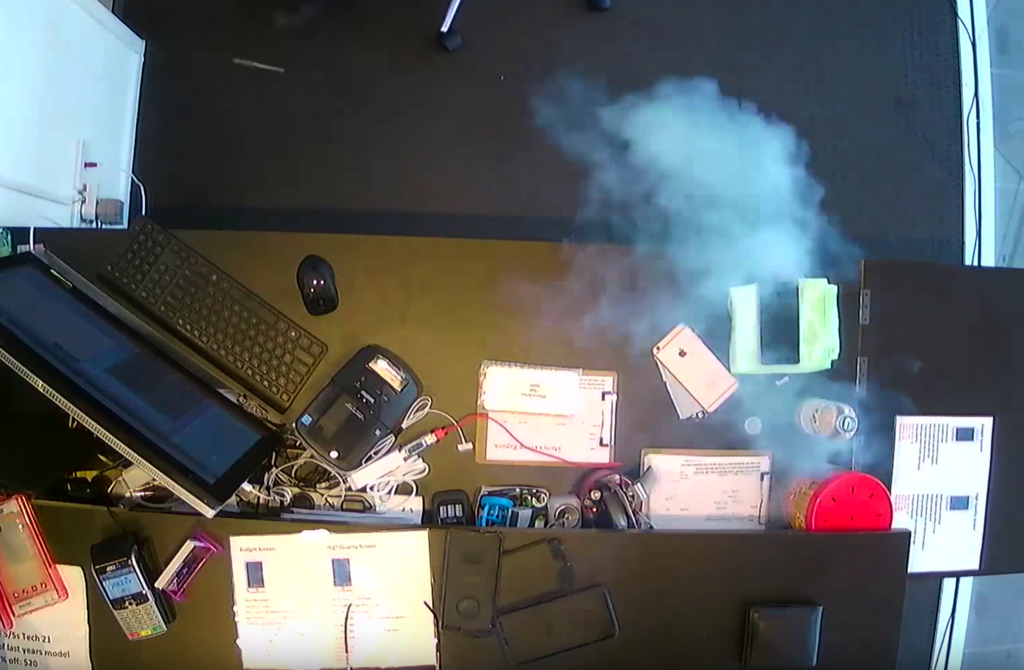 Exploding iPhone 6 Plus