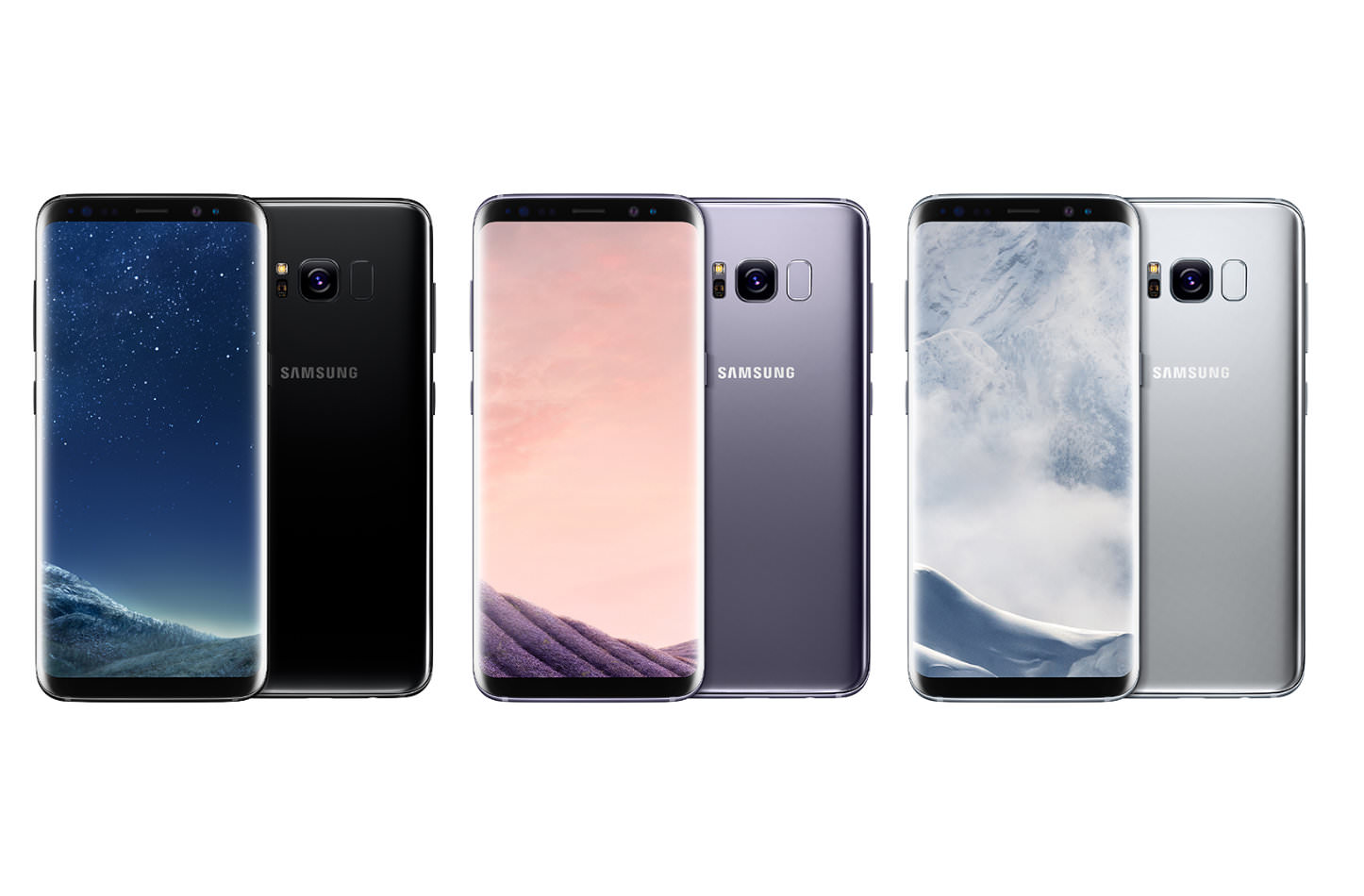 Galaxy S8 Press Images