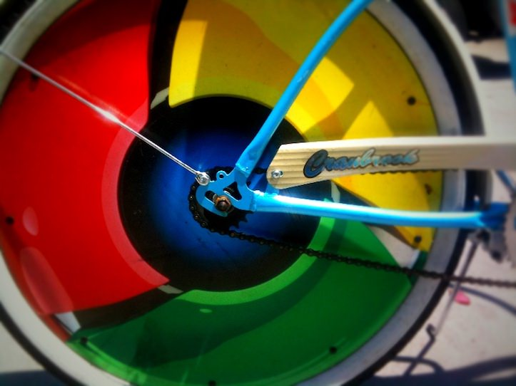 Google Chrome Wheels