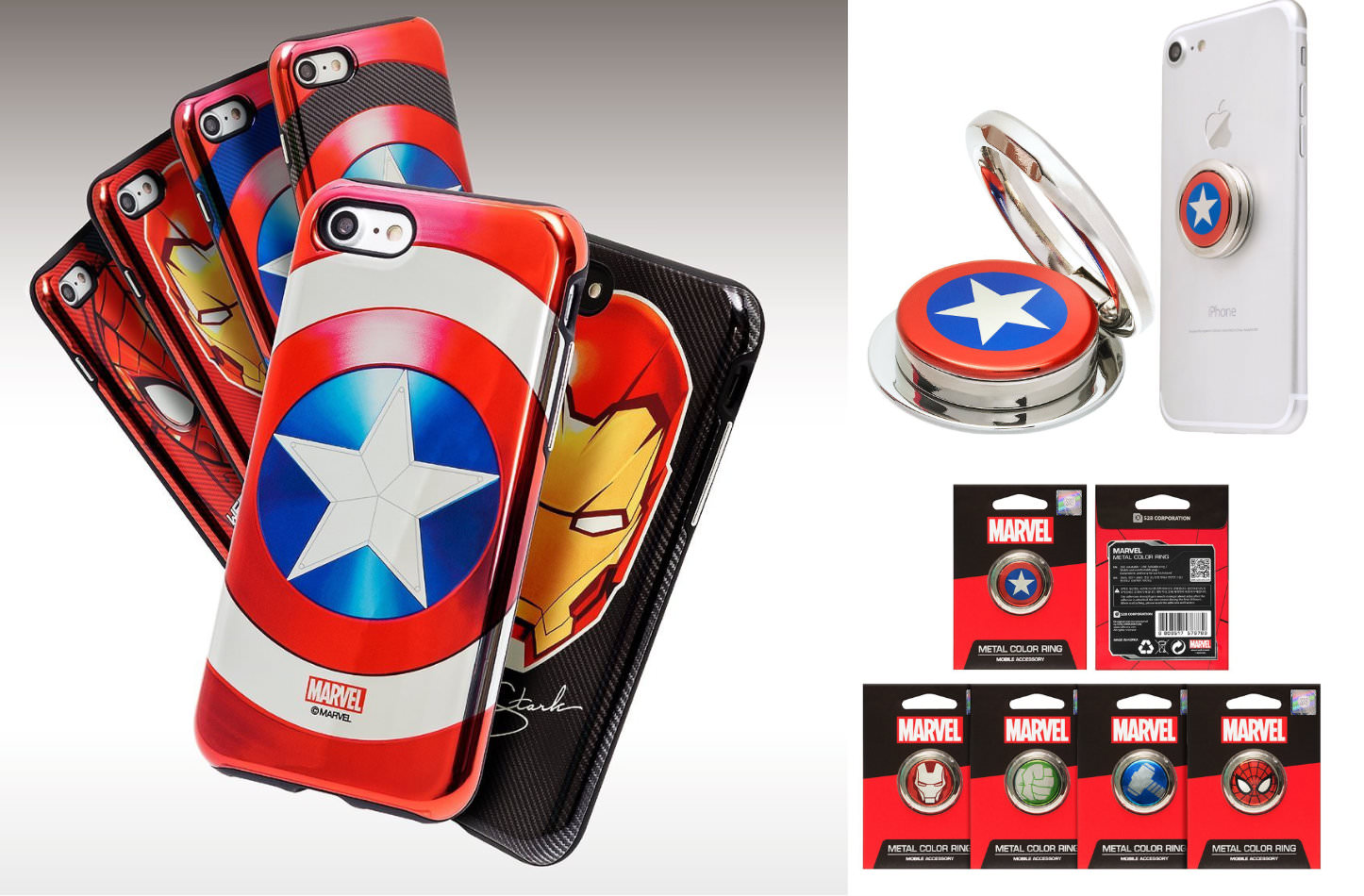 Marvel iPhone Case and Ring