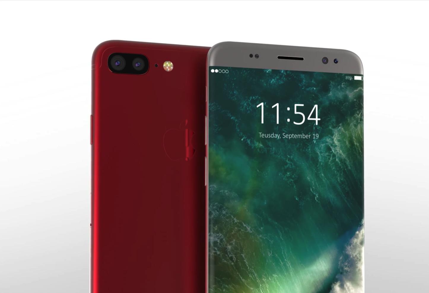 IPhone 8 Edge Concept Video