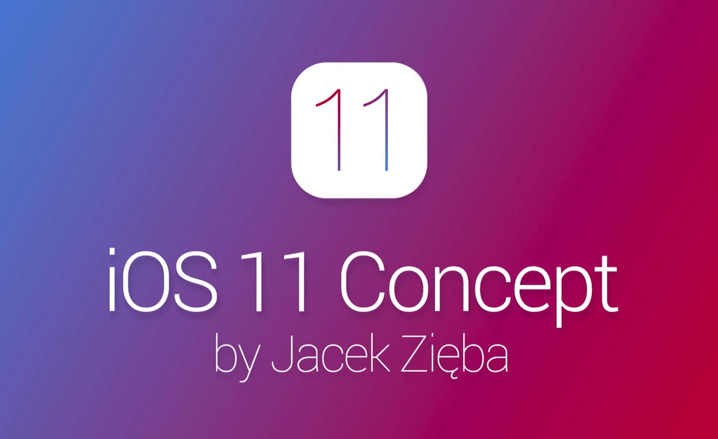 Ios 11 concept image