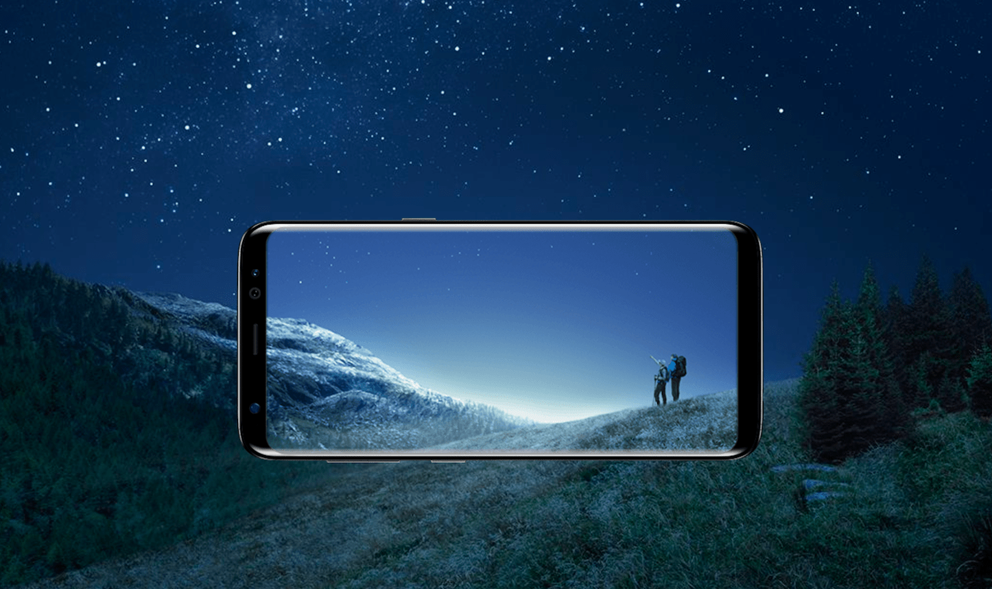 Galaxy S8 Infinity Display 1