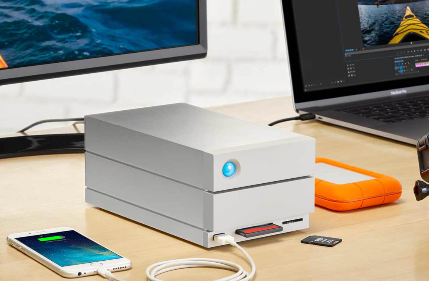 LaCie 2Big Dock Thunderbolt3