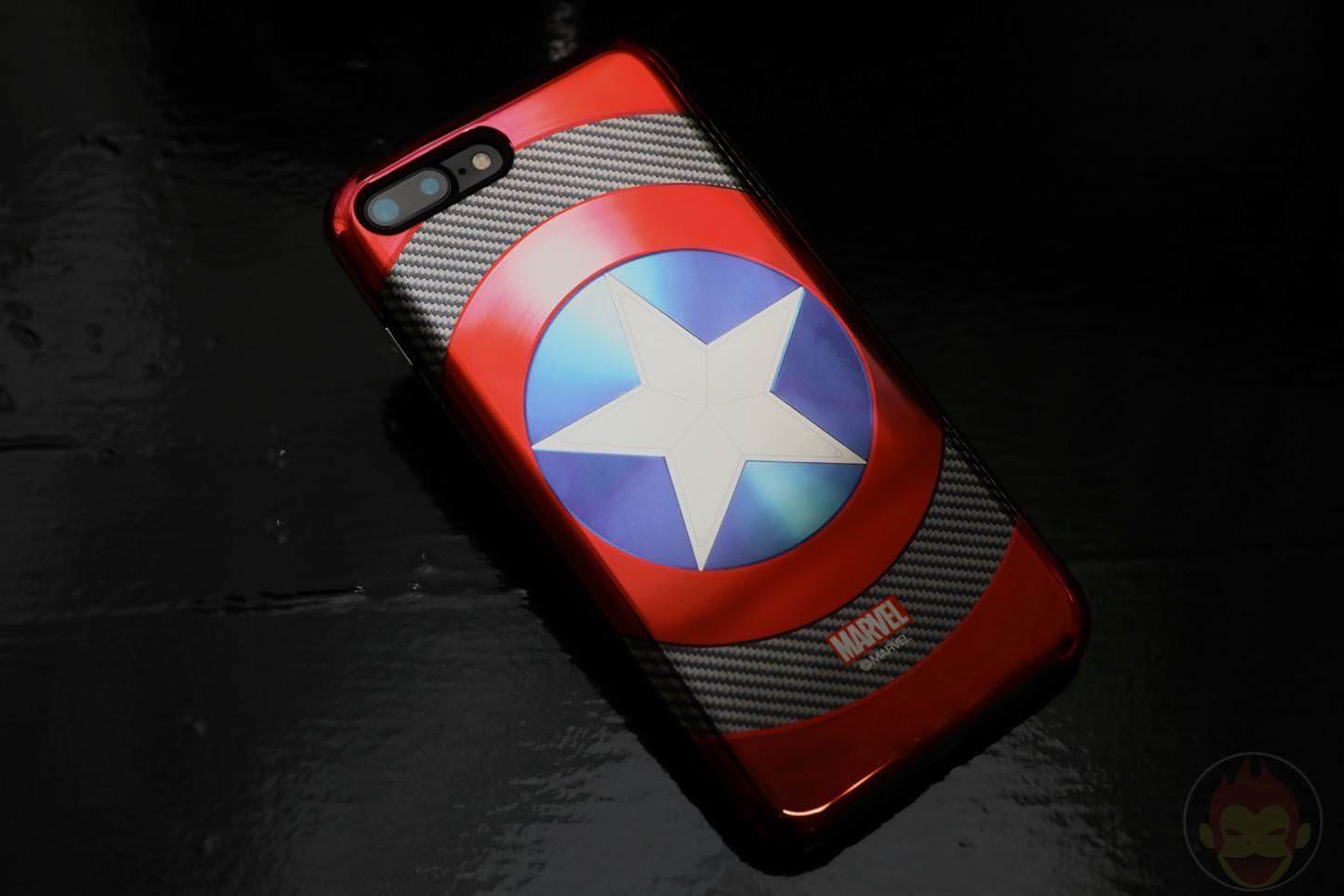 MARVEL Design iPhone 7 Plus Case and Ring
