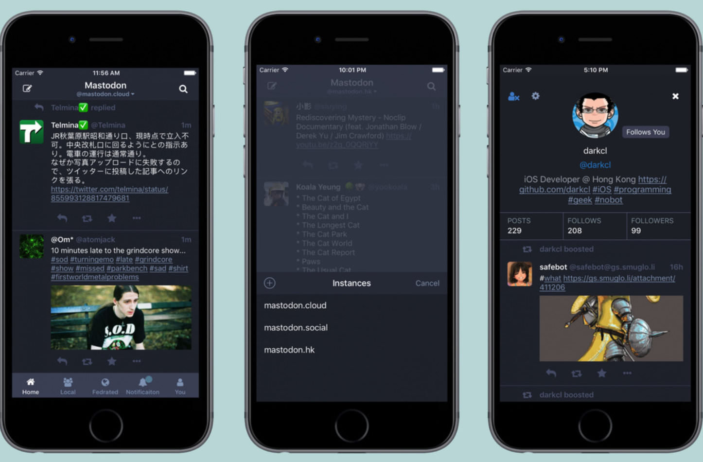 Mastodon iOS