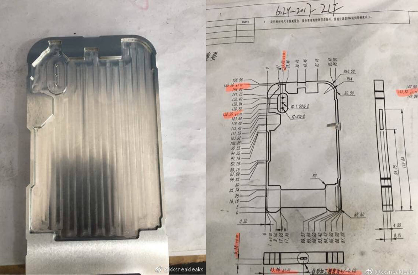 New iPhone8 Mold and Schematics