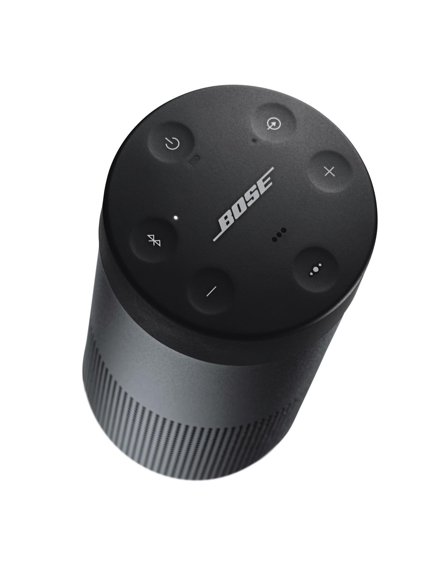 SoundLink Revolve Bluetooth Speaker Triple Black top