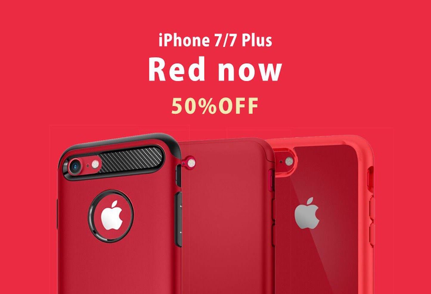 Spigen Red Case Sale
